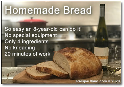 Easy and Delicious No-Knead Homemade Bread